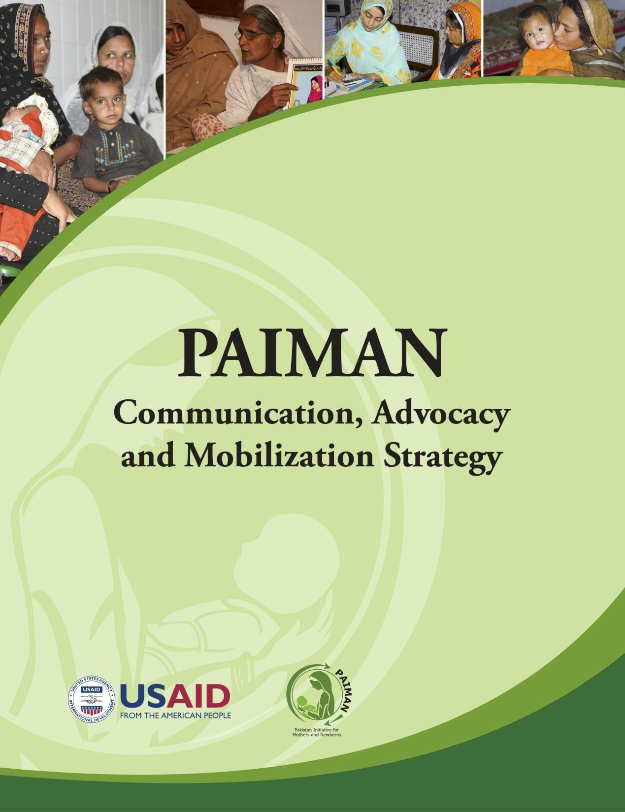 PAIMAN Communication, Advocacy and Mobilization Strategy