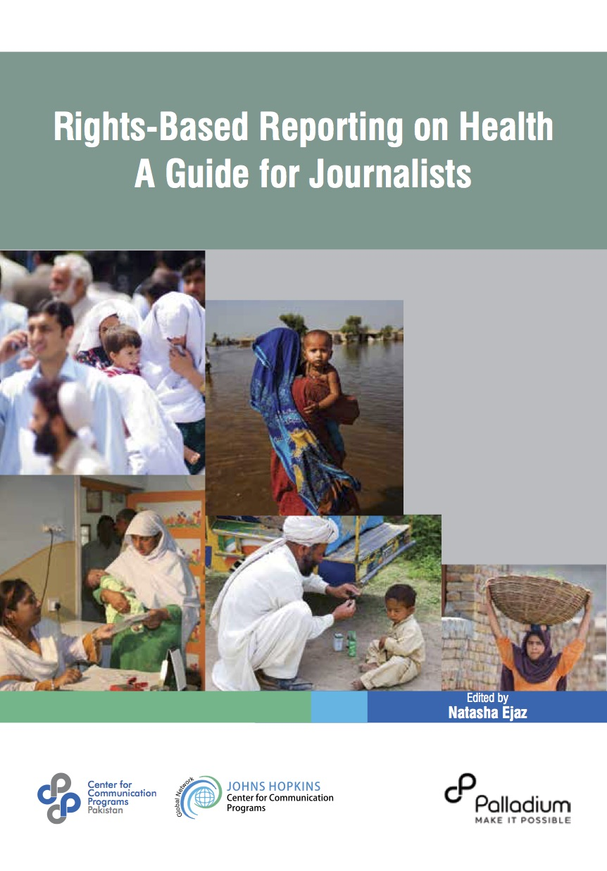 Rights-based Reporting on Health: A Guide for Journalists - 2016